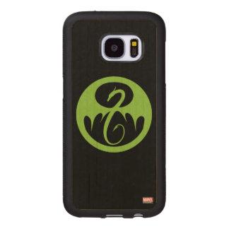 Iron Fist Logo - Green Wood Samsung Galaxy S7 Case