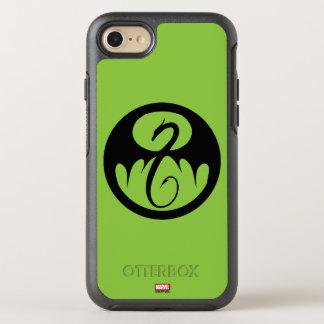 Iron Fist Logo OtterBox Symmetry iPhone 8/7 Case