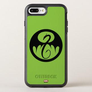 Iron Fist Logo OtterBox Symmetry iPhone 8 Plus/7 Plus Case