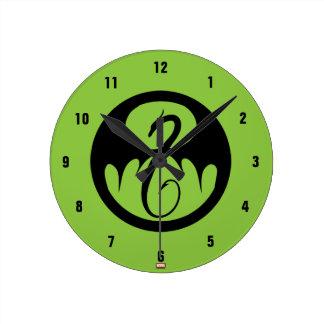 Iron Fist Logo Round Clock