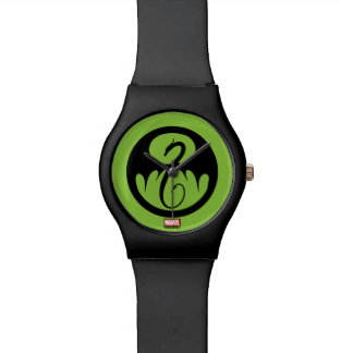 Iron Fist Logo Watch