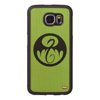 Iron Fist Logo Wood Phone Case