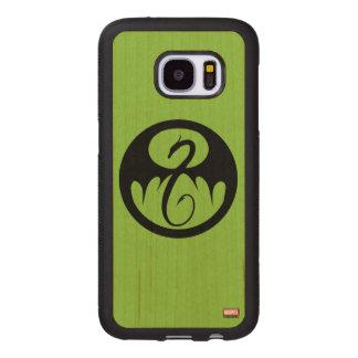 Iron Fist Logo Wood Samsung Galaxy S7 Case