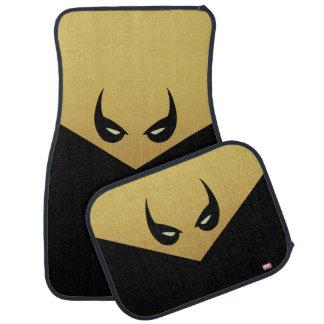 Iron Fist Mask Car Mat