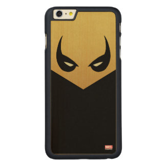 Iron Fist Mask Carved Maple iPhone 6 Plus Case