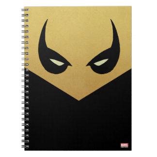 Iron Fist Mask Notebooks