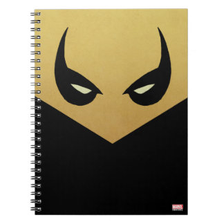 Iron Fist Mask Spiral Note Book