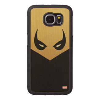 Iron Fist Mask Wood Phone Case