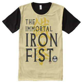 Iron Fist Name Graphic All-Over-Print T-Shirt