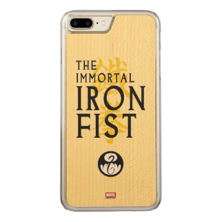 Iron Fist Name Graphic Carved iPhone 8 Plus/7 Plus Case