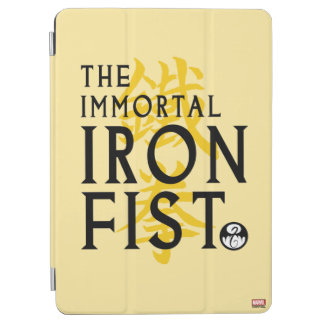 Iron Fist Name Graphic iPad Air Cover