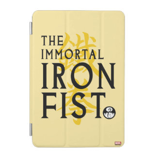 Iron Fist Name Graphic iPad Mini Cover
