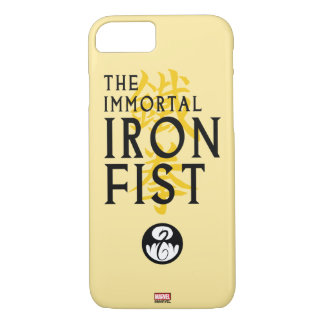 Iron Fist Name Graphic iPhone 7 Case