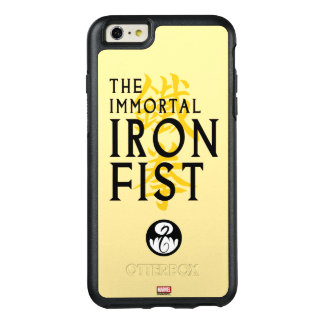 Iron Fist Name Graphic OtterBox iPhone 6/6s Plus Case