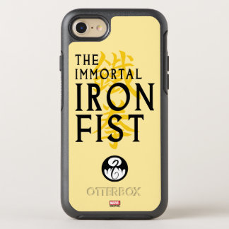 Iron Fist Name Graphic OtterBox Symmetry iPhone 7 Case