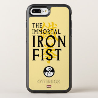 Iron Fist Name Graphic OtterBox Symmetry iPhone 8 Plus/7 Plus Case