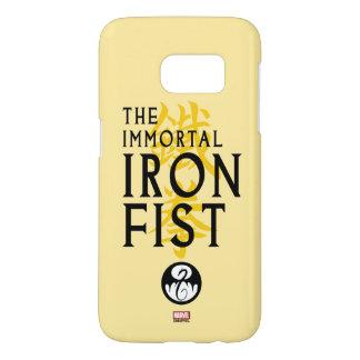 Iron Fist Name Graphic Samsung Galaxy S7 Case