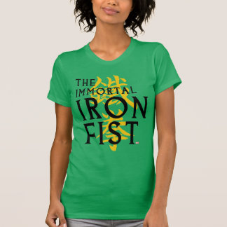 Iron Fist Name Graphic T-Shirt