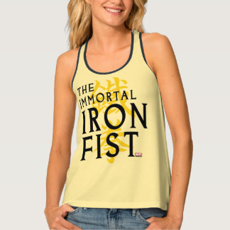 Iron Fist Name Graphic Tank Top