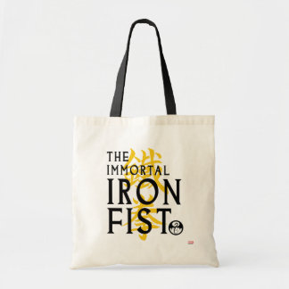 Iron Fist Name Graphic Tote Bag