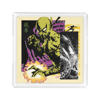 Iron Fist the Living Weapon Acrylic Tray