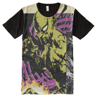 Iron Fist the Living Weapon All-Over-Print T-Shirt