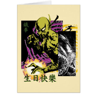 Iron Fist the Living Weapon Card