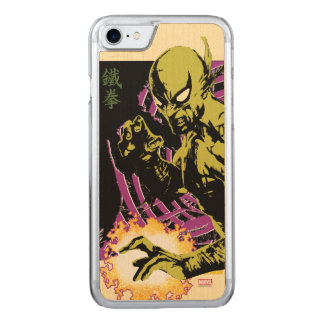 Iron Fist the Living Weapon Carved iPhone 7 Case