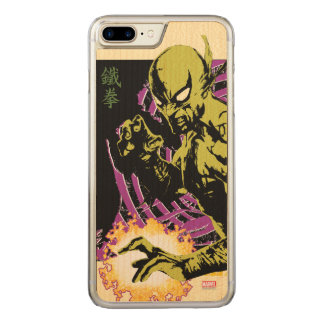 Iron Fist the Living Weapon Carved iPhone 8 Plus/7 Plus Case