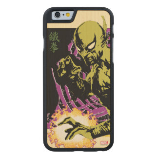 Iron Fist the Living Weapon Carved Maple iPhone 6 Case