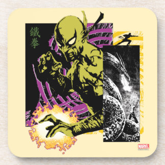 Iron Fist the Living Weapon Coaster