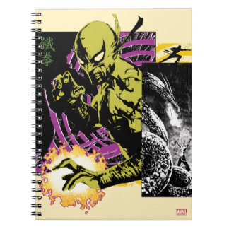 Iron Fist the Living Weapon Spiral Notebook