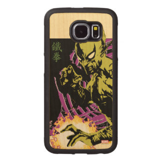 Iron Fist the Living Weapon Wood Phone Case