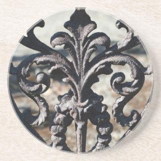 Iron Fleur De Lis Coaster