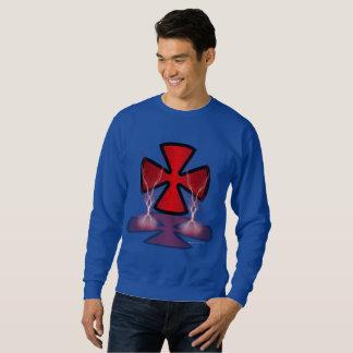 Iron Ghost Cross Men's Sweatshirt