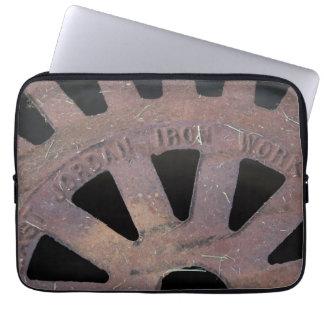 Iron Grate Laptop Sleeve