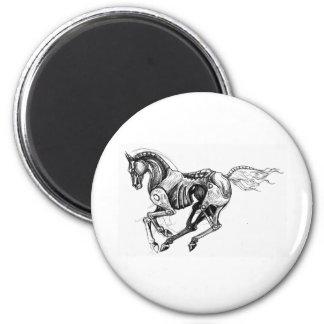 Iron Horse Magnet