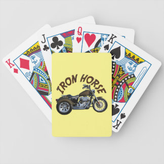 Iron Horse Trike Bicycle Playing Cards