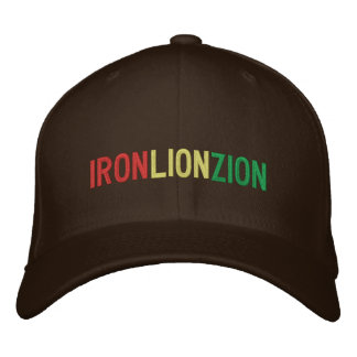 IRON LION ZION (hat) Embroidered Hat