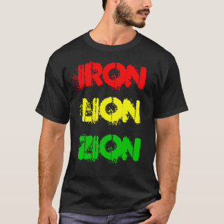 IRON LION ZION (shirt) T-Shirt