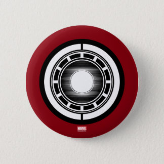 Iron Man Arc Icon 2 Inch Round Button