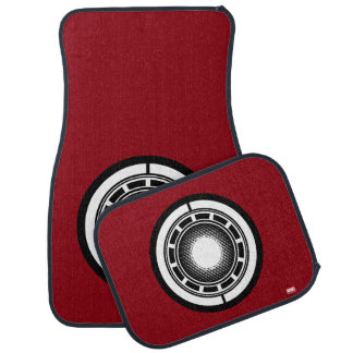 Iron Man Arc Icon Car Mat