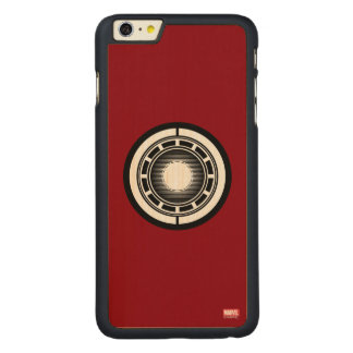 Iron Man Arc Icon Carved® Maple iPhone 6 Plus Case