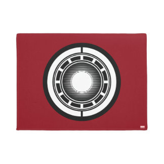 Iron Man Arc Icon Doormat