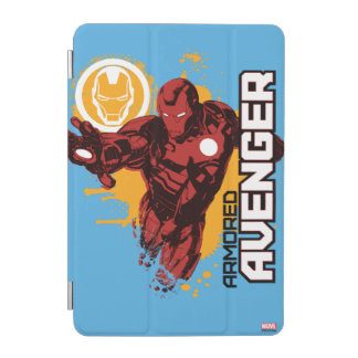 Iron Man Armored Avenger Graphic iPad Mini Cover