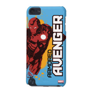 Iron Man Armored Avenger Graphic iPod Touch (5th Generation) Covers