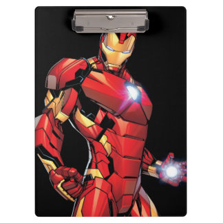 Iron Man Assemble Clipboard