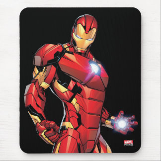 Iron Man Assemble Mouse Pad