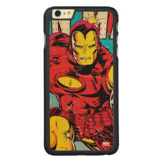 Iron Man Comic #126 Carved® Maple iPhone 6 Plus Case