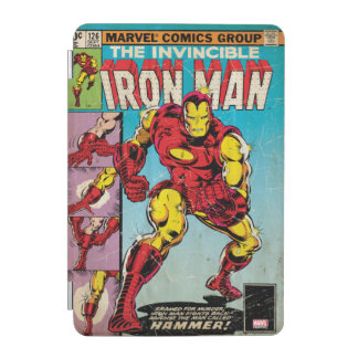 Iron Man Comic #126 iPad Mini Cover